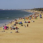 Playa de Roche en la Costa de la Luz