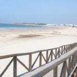 Playa la Barrosa en Chiclana