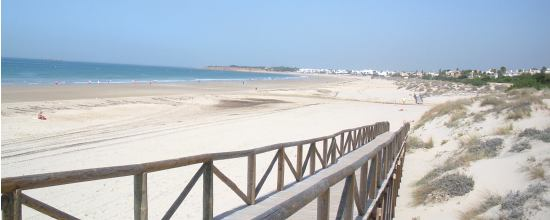 Playa la Barrosa en Chiclana