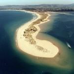 Playa de Somo en la costa de Ribamontan al Mar