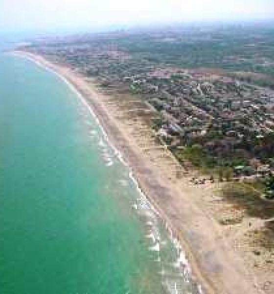 Playa Almardá en Sagunto, Valencia