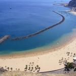 Playa de Las Teresitas en Tenerife