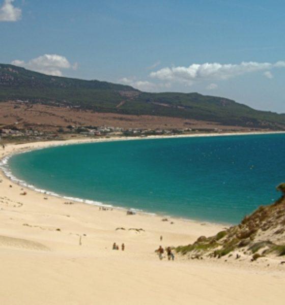Playa de Bolonia, en Tarifa Cádiz