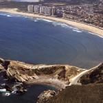 Playa de Salinas en Avilés, Asturias