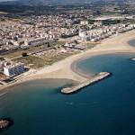 Playa de Cunit en la provincia de Tarragona