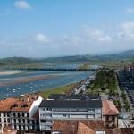 Playa La Maza en la costa de Cantabria