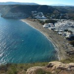 Playa de Agua Amarga en Cabo de Gata