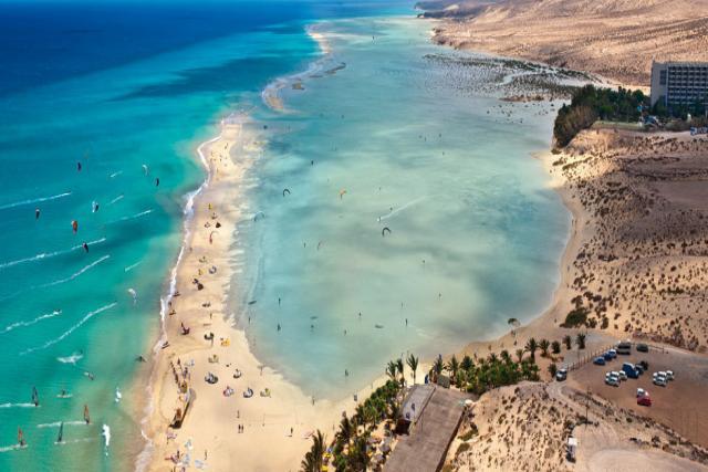 Playa Barca en Fuerteventura