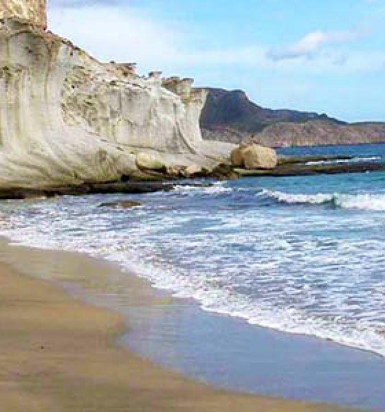 La Cala del Plomo en la provincia de Almería