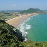 Playa de Berria en Cantabria