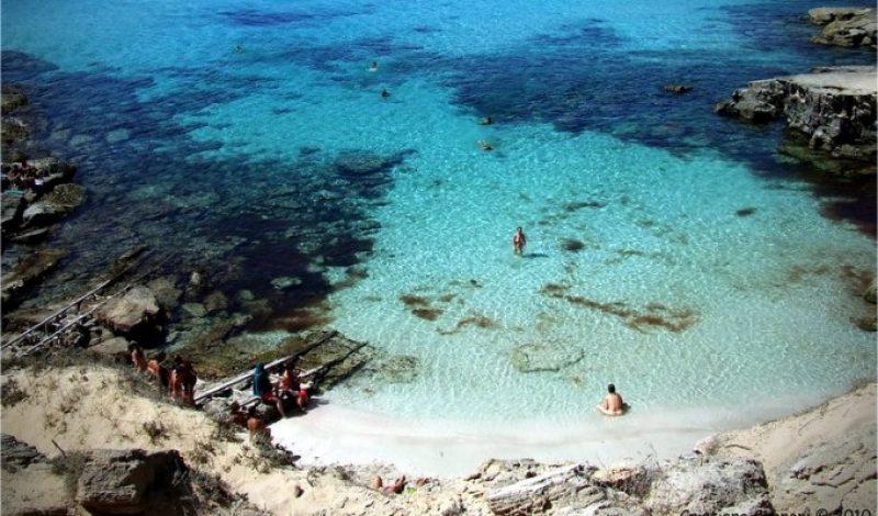 Caló d'es Mort en Formentera