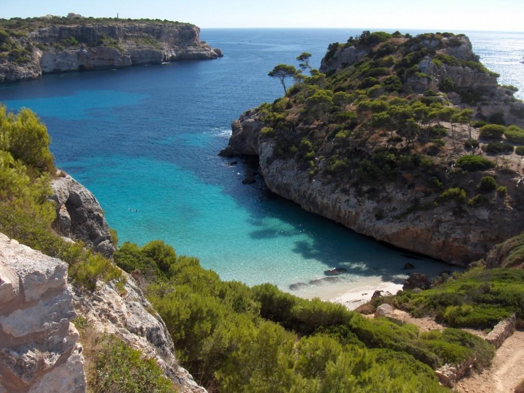 Cala des Moro en Menorca