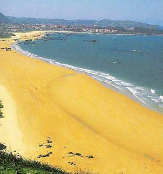 Playa Trengandín en Cantabria