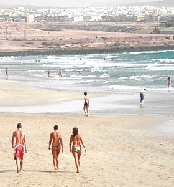 Playa Blanca en Fuerteventura
