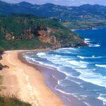 La Playa de Vega en la costa de Asturias