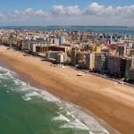 La Playa de la Victoria en Cádiz