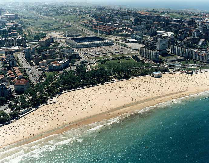 La Playa de El Sardinero en Santander
