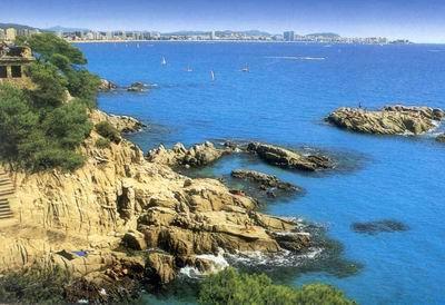 Playa de Sant Sebastià en Sitges 02