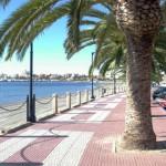 Playa de Villananitos en el Mar Menor