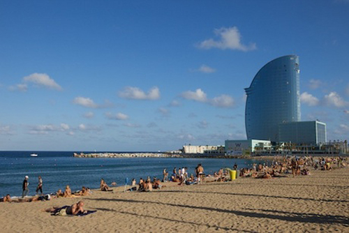 Playa de la Barceloneta, Barcelona, Costa del Garraf