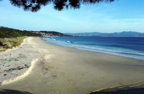 Playa de Barra en Cangas do Morrazo