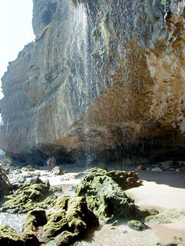 Playas de La Breña y los â??Chorrosâ?� de Caños de Meca, Andalucía