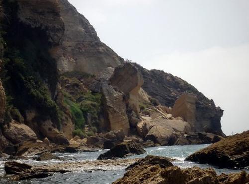 Playas de La Breña y los chorros de Caños de Meca