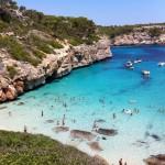 Caló des Moro en la isla de Mallorca