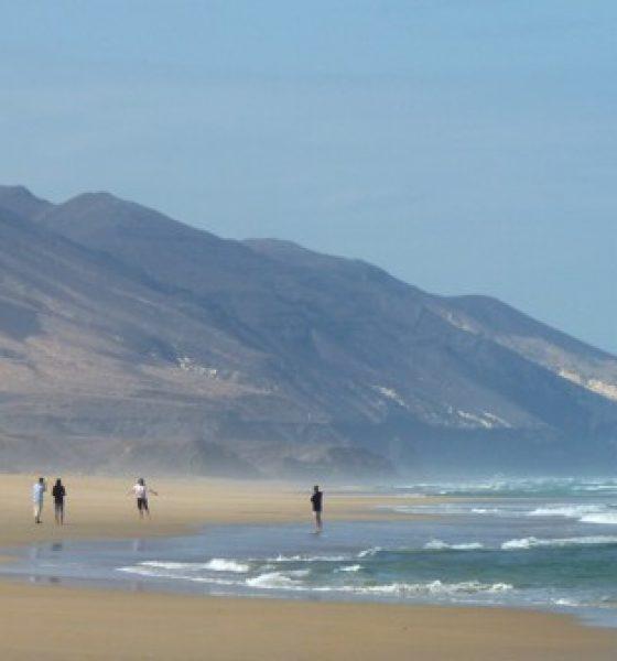 Playa de Cofete en Fuerteventura