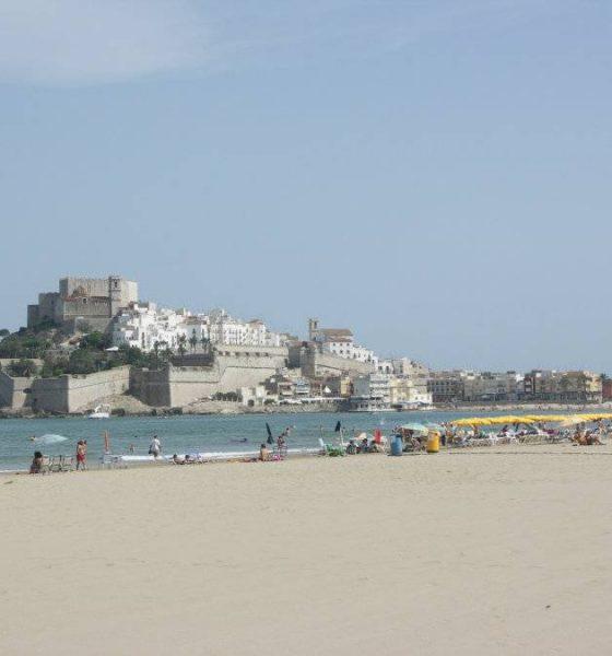 La Playa Norte de Peñíscola