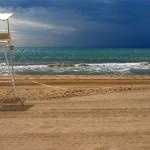 Playa de Castelldefels en Cataluña