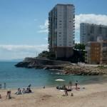 Playa del Far en la localidad de Cullera