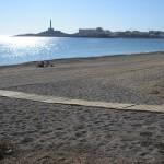Playa de Cabo de Palos en la Manga