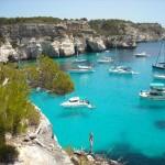 Cala Blanca en Menorca