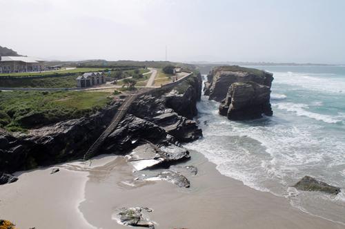 Playa das Illas y Os Castros, Ribadeo, Lugo, Galicia