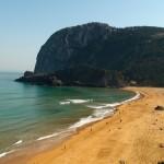 Playa de La Laga en Vizcaya, Euskadi