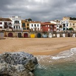 Playas de Llafranc, Palafrugell, Girona, Costa Brava