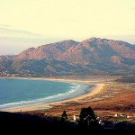 La Playa de Carnota en Galicia