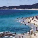 Playa A Lanzada en Pontevedra
