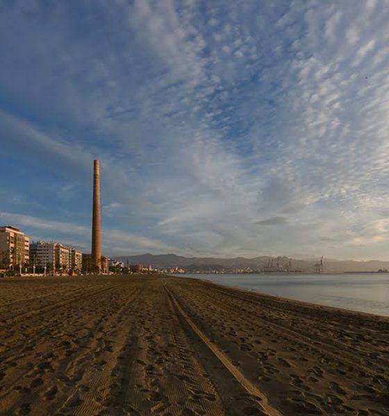 Playa la Misericordia en Málaga
