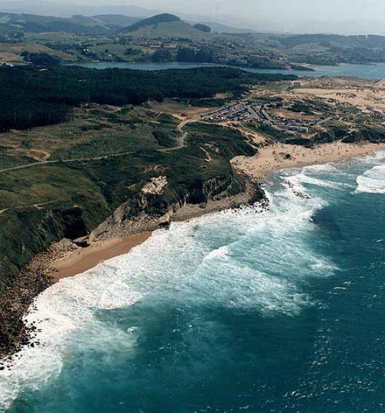 Playa de Canallave en Piélagos