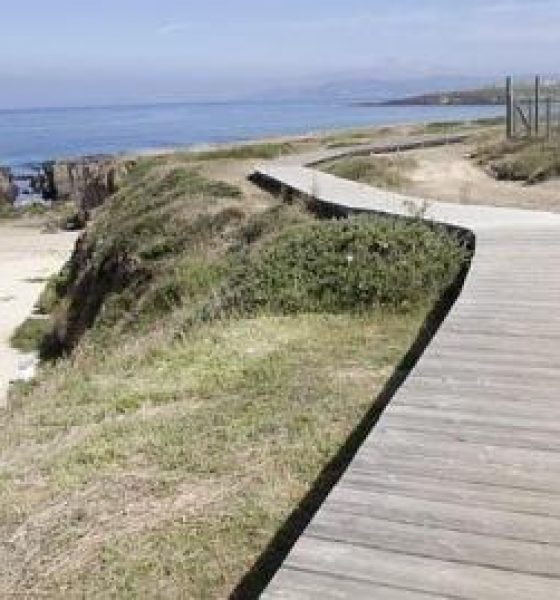 Playa Das Furnas en Coruña