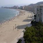 Playa de San Antonio es la Playa de Cullera en Valencia