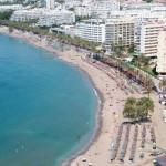 La Playa de la Fontanilla en Cádiz