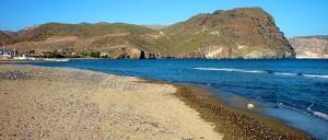 Playa de las Negra en Cabo de Gata