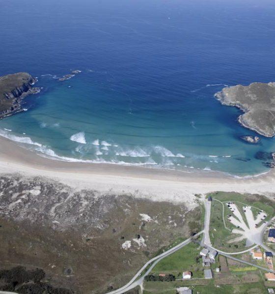 Playa Pantín en la Coruña