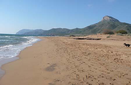 Playa-Calblanque-en-Murcia