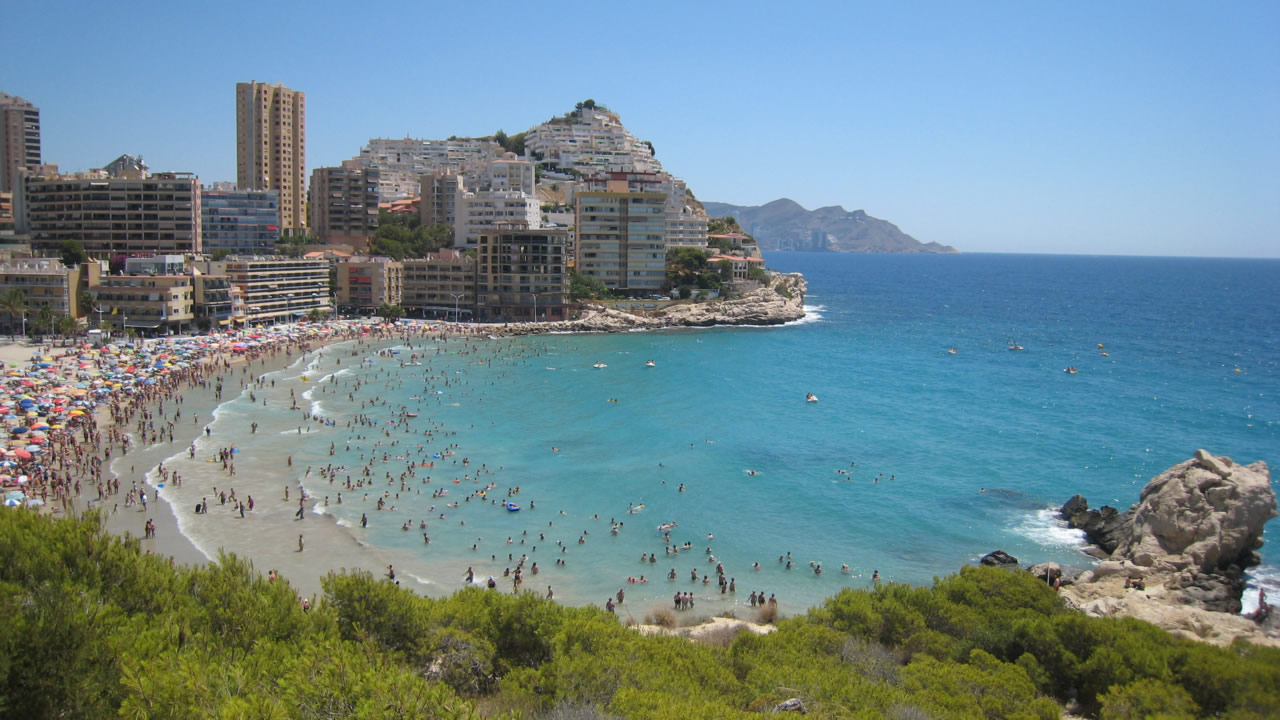 pueblos más bonitos en la costa de la Comunidad Valenciana finestrat