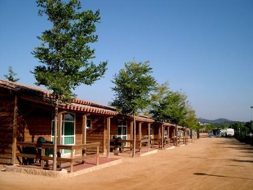 malgrat nord, bungalows camping