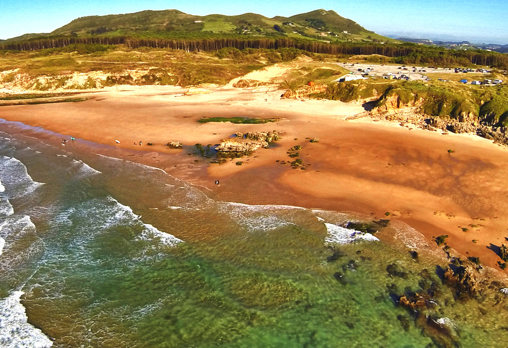 Playa de Canallave en pielagos